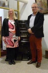 Regina Ederveen en Dick Sanderman